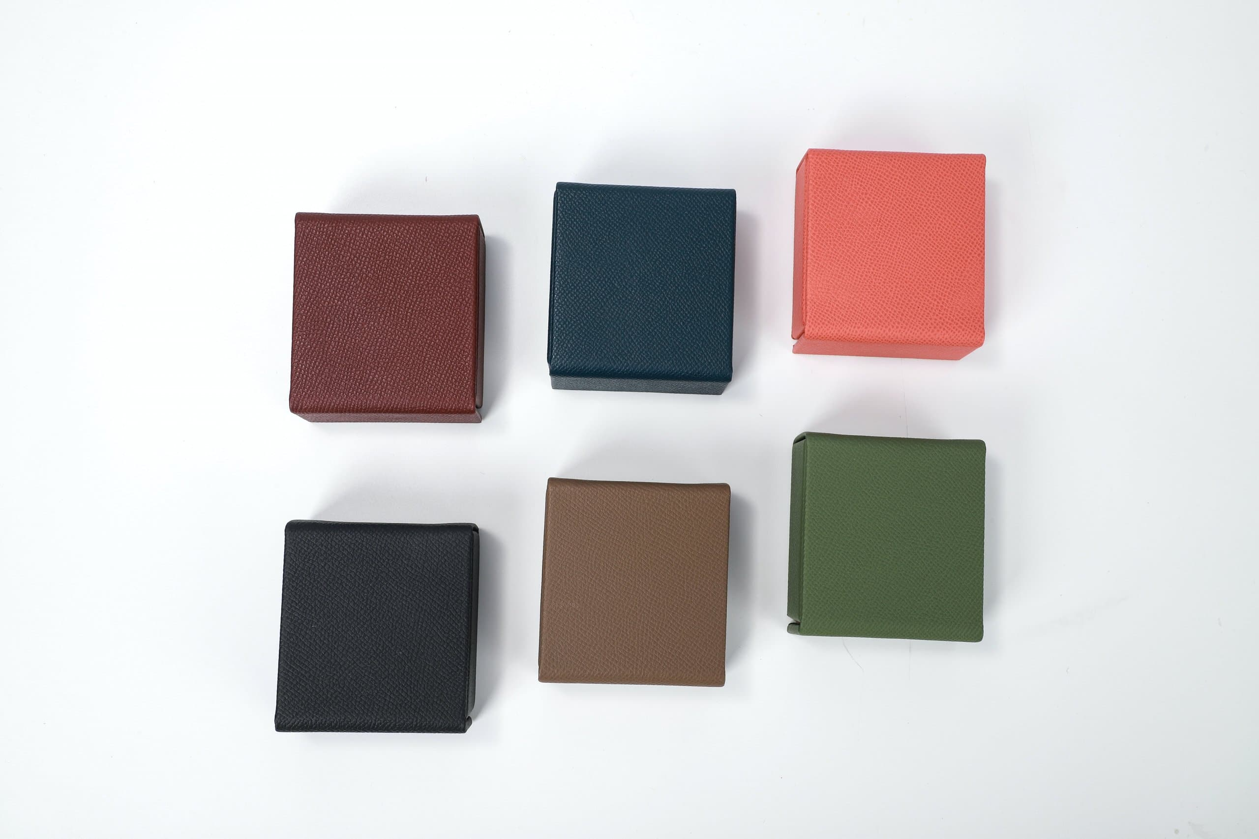 black red and green books