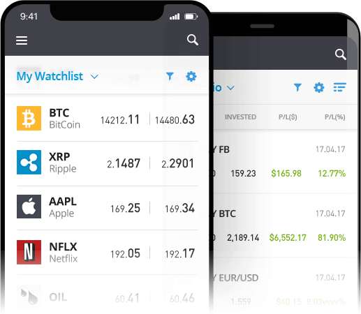 Bitcoin App eToro