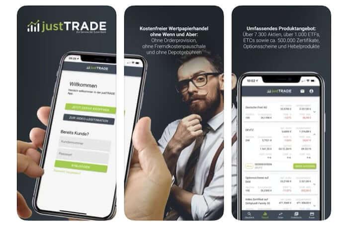 justTRADE App