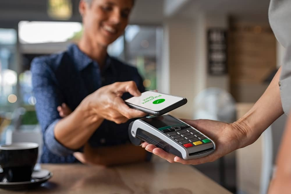 Apple Wallet Mobile Pay per NFC
