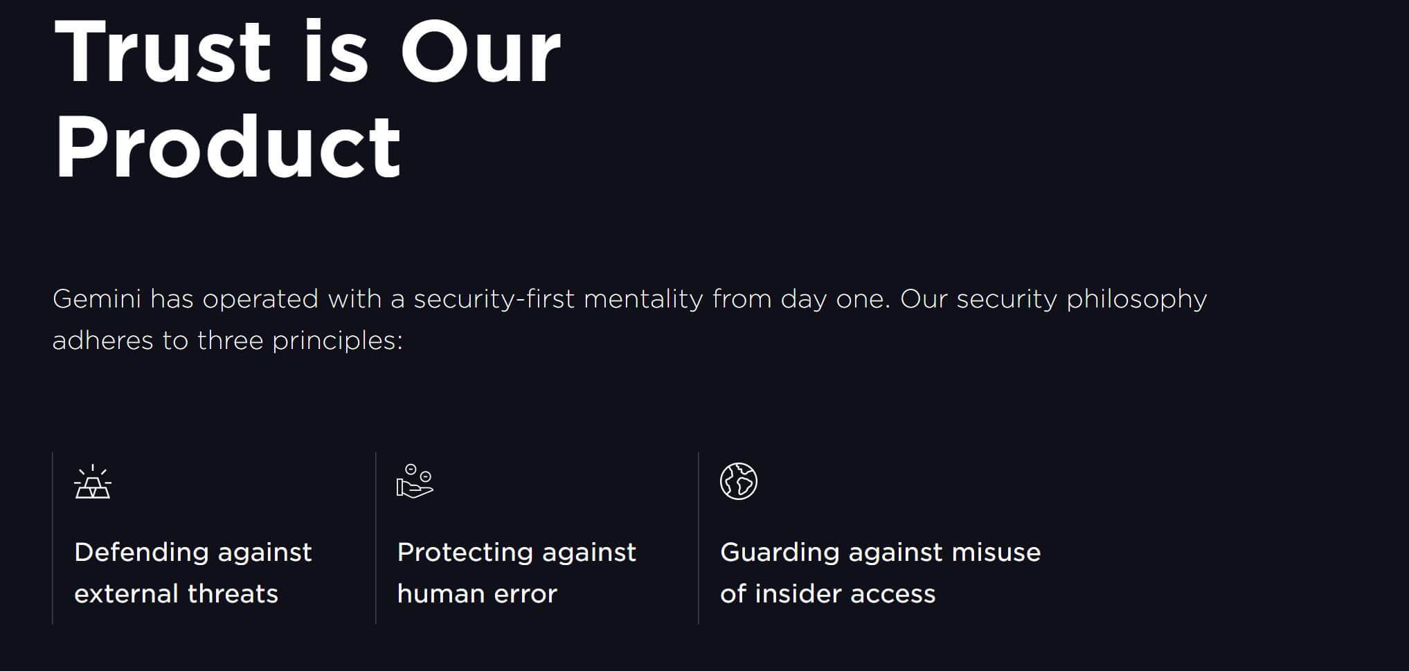 Gemini Sicherheit