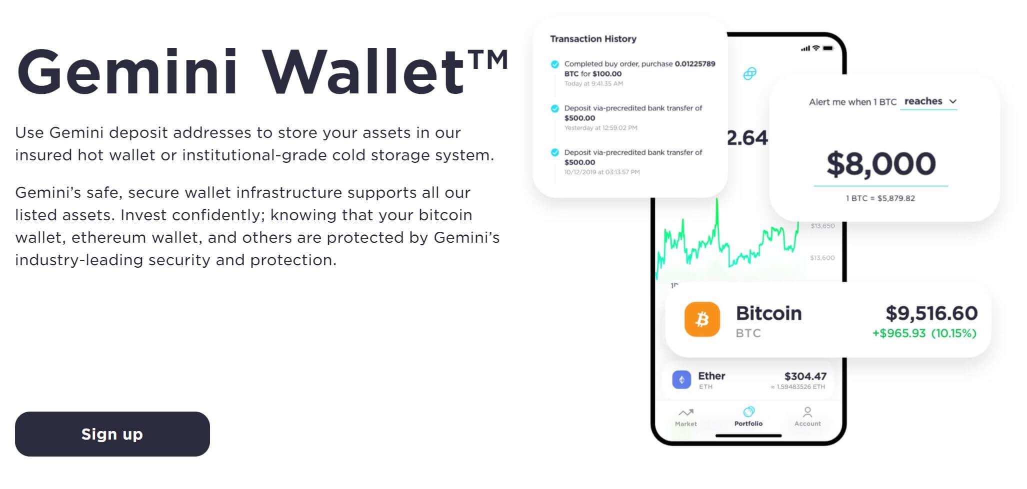 Gemini Wallet