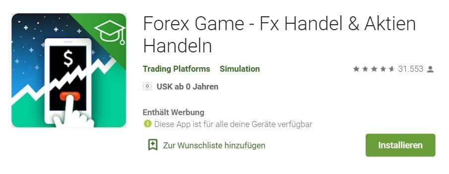 Forex Game App