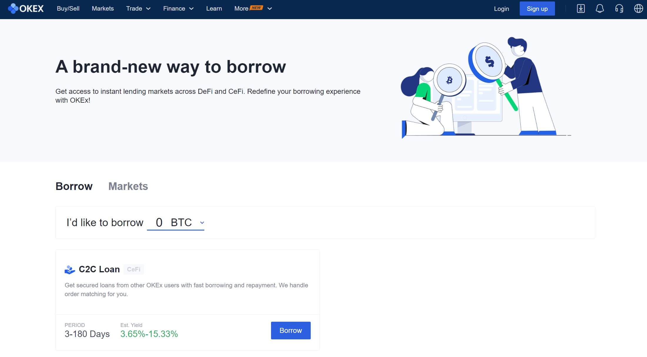 OKEX Loan