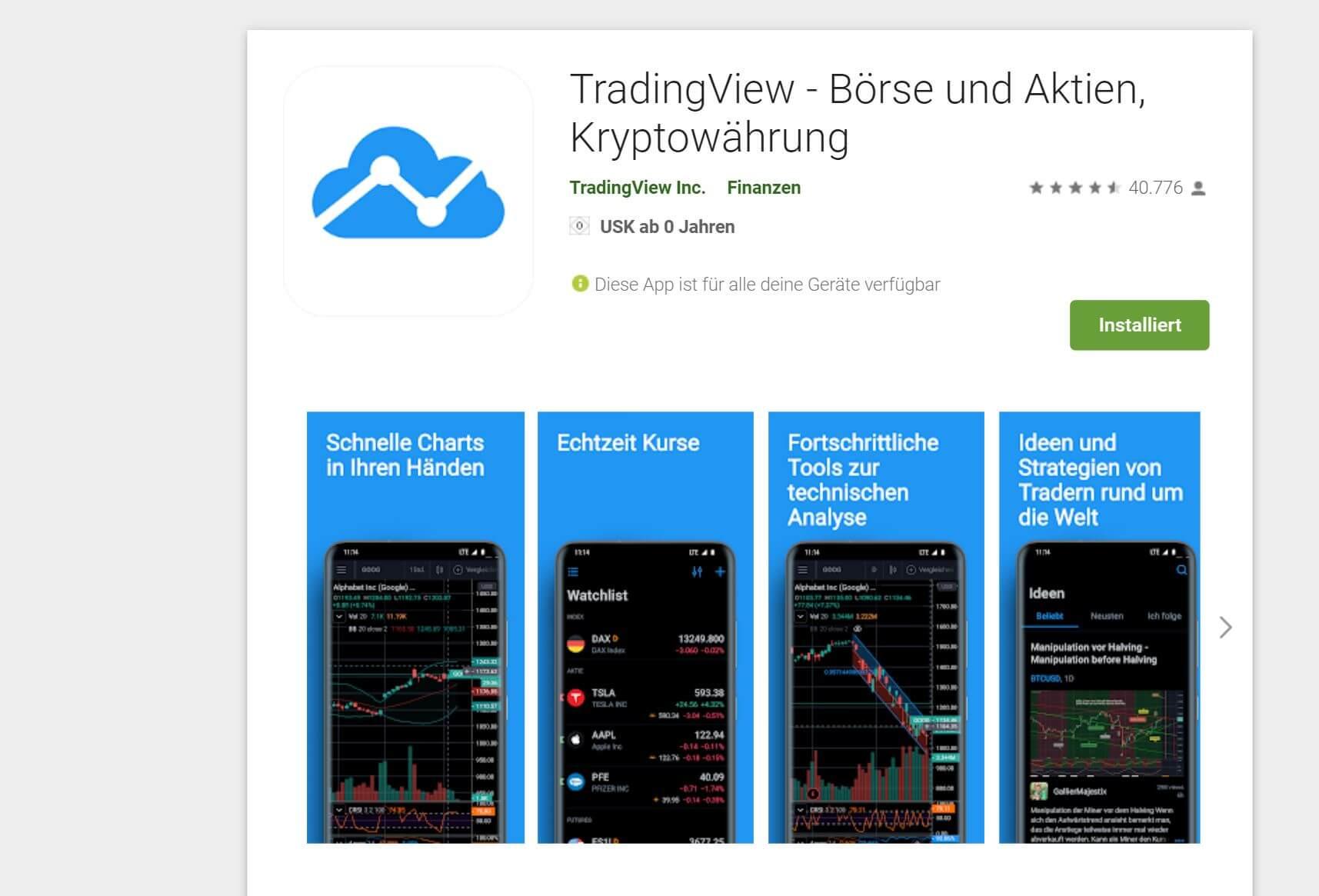 Tradingview App