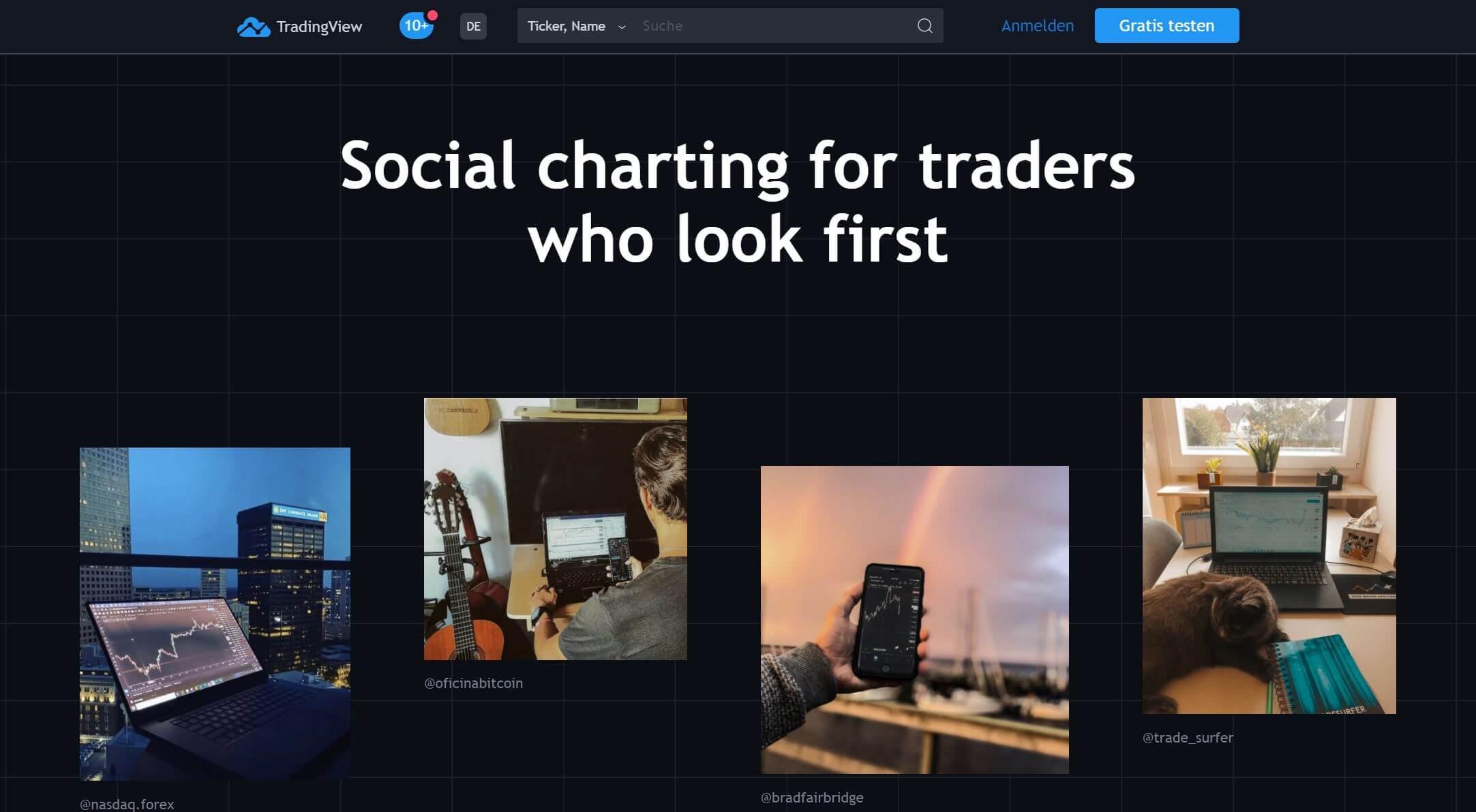 Tradingview für wen