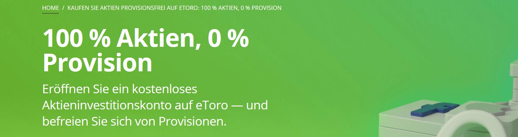 eToro Aktien Gebühren
