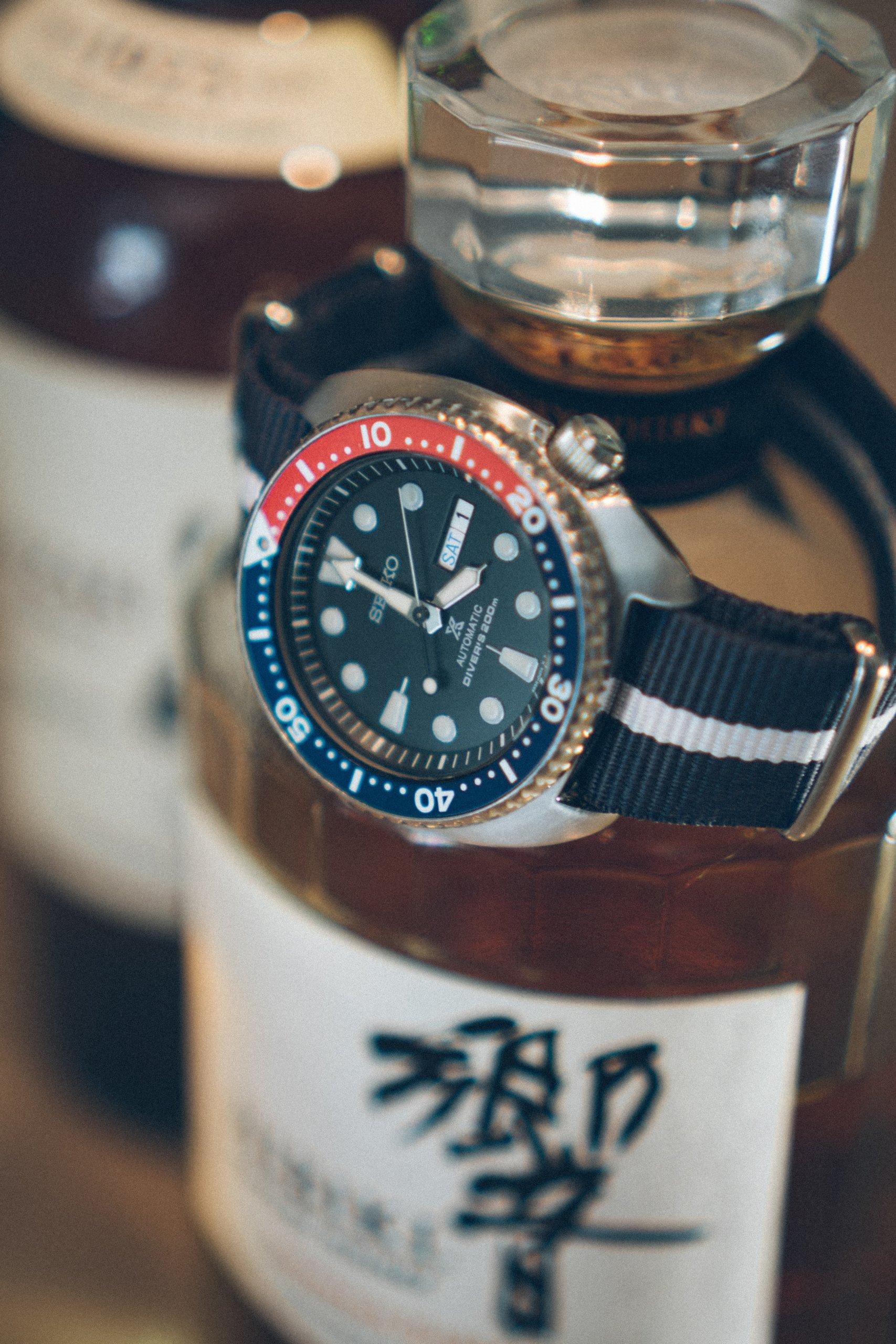 Investment in Uhren und Whiskey