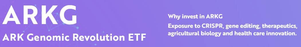 Ark Genomic Revolution ETFs