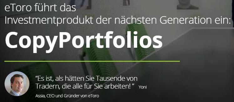 Copy Portfolio eToro