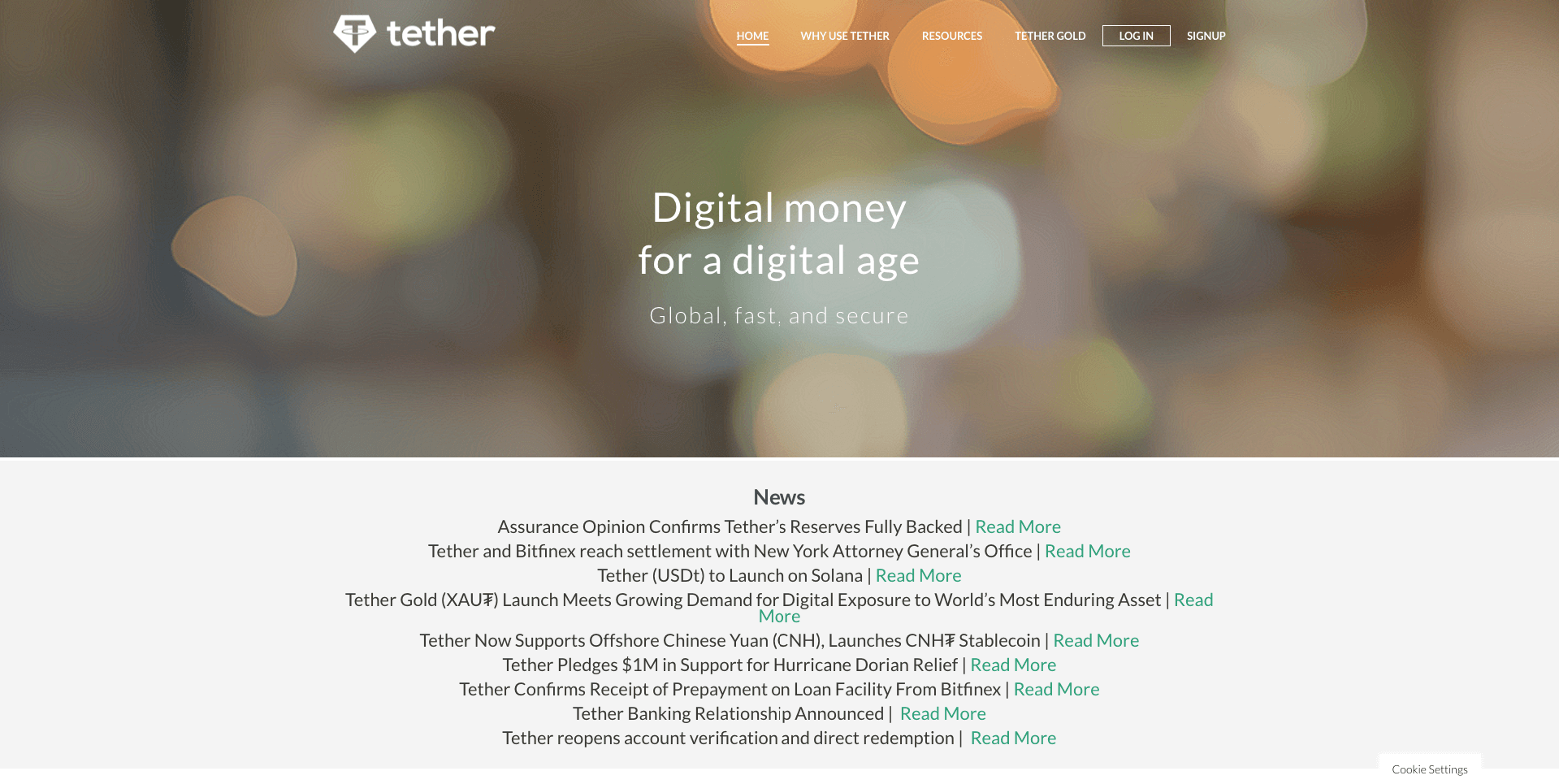 Tether (1)