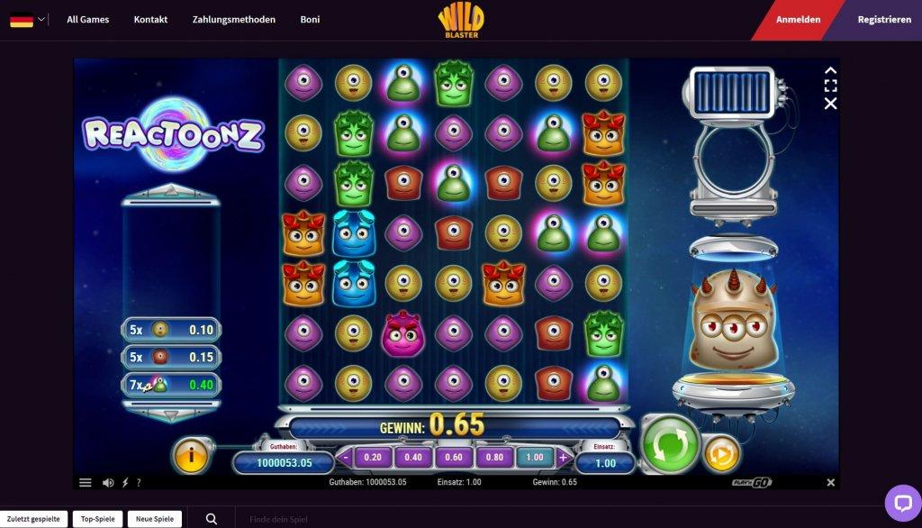 Wildblaster Casino Erfahrungen