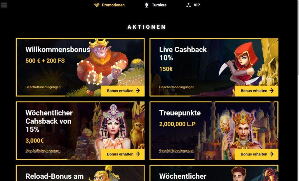 Zet Casino Bonus
