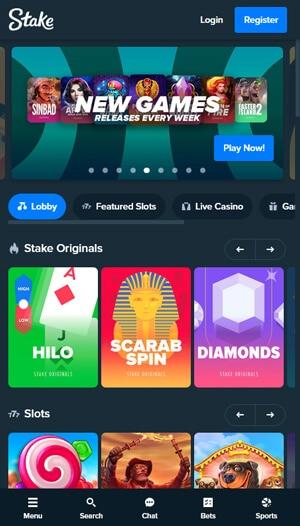 stake casino mobil angepasst