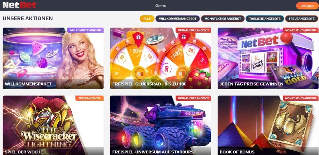 NetBet Casino Bonus